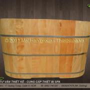 Bồn tắm gỗ MS 12