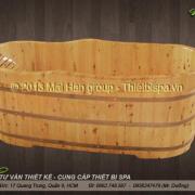 Bồn tắm gỗ MS 14