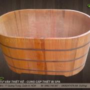 Bồn tắm gỗ MS 15
