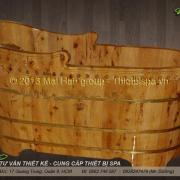 Bồn tắm gỗ MS 02