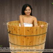 Bồn tắm gỗ MS 20
