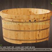 Bồn tắm gỗ MS 22
