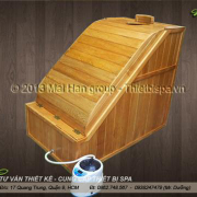 Bồn tắm gỗ MS 23