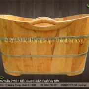 Bồn tắm gỗ MS 03