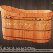 Bồn tắm gỗ MS 05