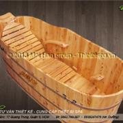 Bồn tắm gỗ MS 06
