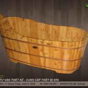 Bồn tắm gỗ MS 08