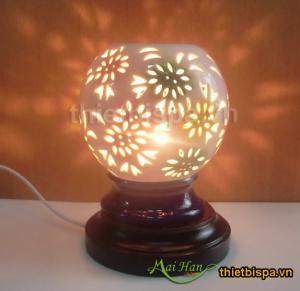 Đèn xông tinh dầu tròn 03
