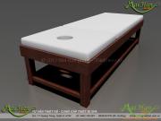 Biến tấu với gỗ để tăng thêm sự sang trọng cho spa