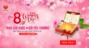 """Mừng ngày quốc tế Phụ Nữ 8/3: Cùng Love Stone """"Trao sức khỏe – gửi yêu thương"""" đến những người phụ nữ mình yêu thương"""