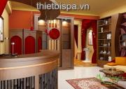 5 màu sắc đặc trưng của thiết kế nội thất thẩm mỹ viện
