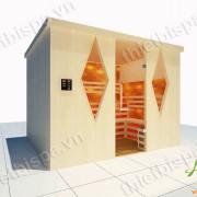Phòng xông hơi đá muối Ms 09