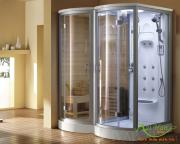 Lắp phòng xông hơi trong nhà tắm